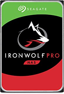 Seagate IronWolf Pro 6TB NAS Internal Hard Drive HDD – 3.5 Inch SATA 6Gb/s 7200 RPM 256MB Cache for RAID Network Attached Storage, Data Recovery Service – Frustration Free Packaging (ST6000NE0021)