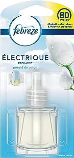 Febreze Recharges 3Volution pour Diffuseur Électrique, Pureté De Coton, 20 ml