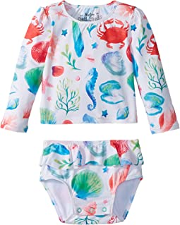 Hatley Kids - Ocean Treasures Mini Rashguard Set (Infant)