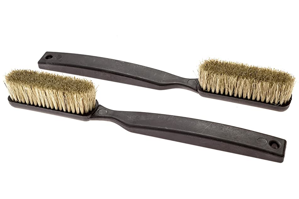 Climbing & Bouldering Brush - 2 Pack | Thick Boar's Hair Bristles, Ultra Durable, Perfect Climbing Brushes for All Holds & Chalk Types, Indoor or Outdoor