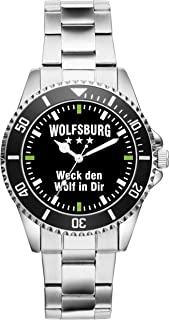 Wolfsburg Geschenk Artikel Idee Fan Uhr 2362