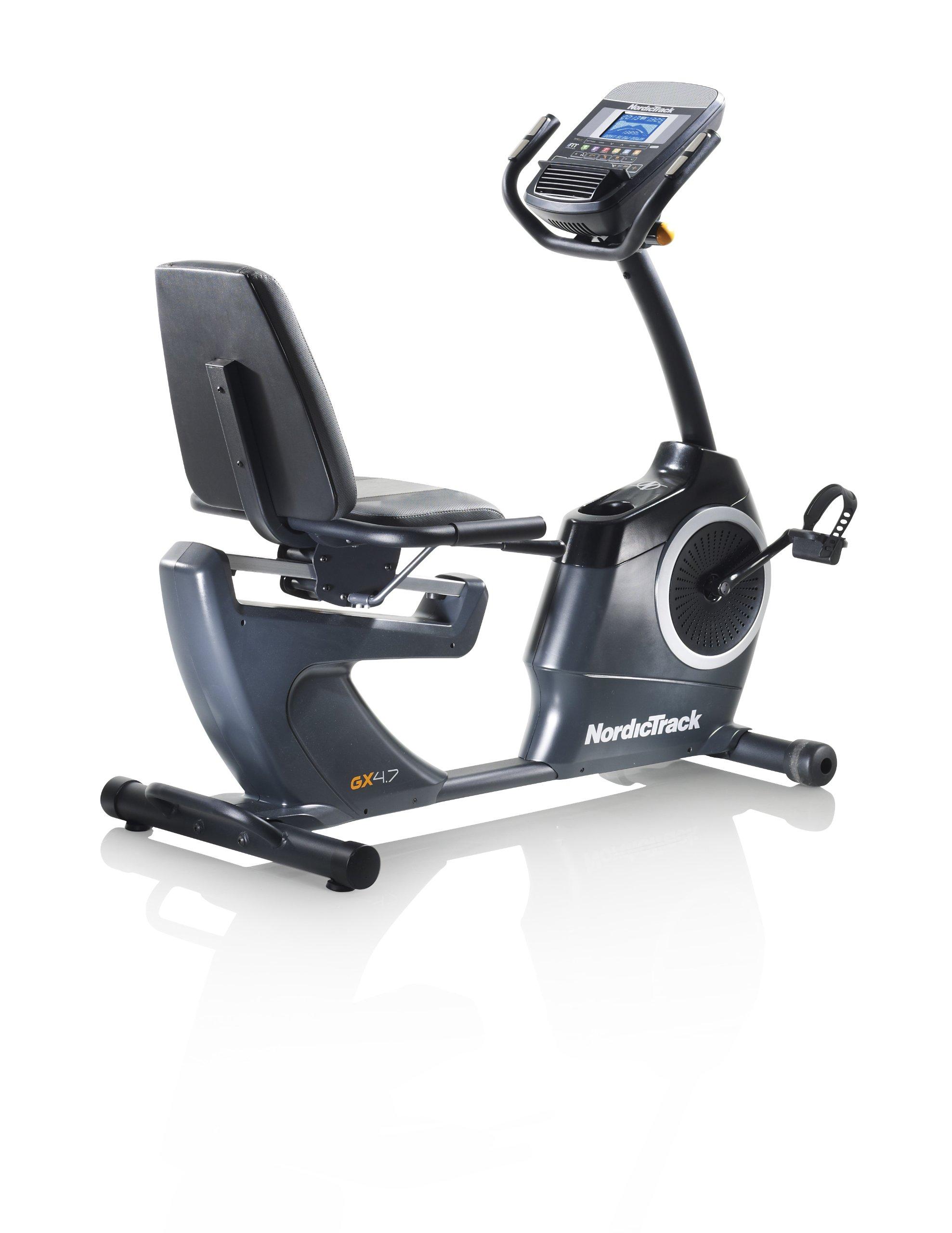 Nordictrack GX 4.7 Bicicleta estática: Amazon.es: Deportes y aire ...