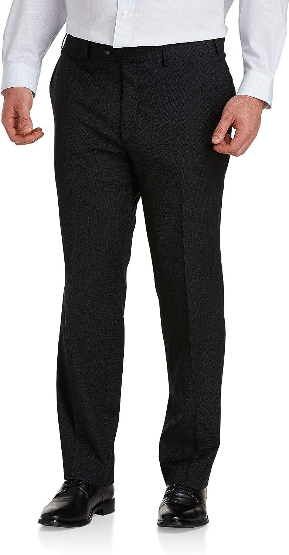 Jack Victor Reflex Mini Check Suit Pants, Charcoal