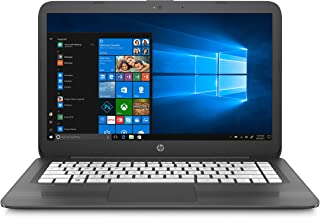 HP Stream Laptop PC 14-ax060nr (Intel Celeron N3060, 4 GB RAM, 32 GB eMMC, Gray), 1-Year Office 365 Personal Subscription Included