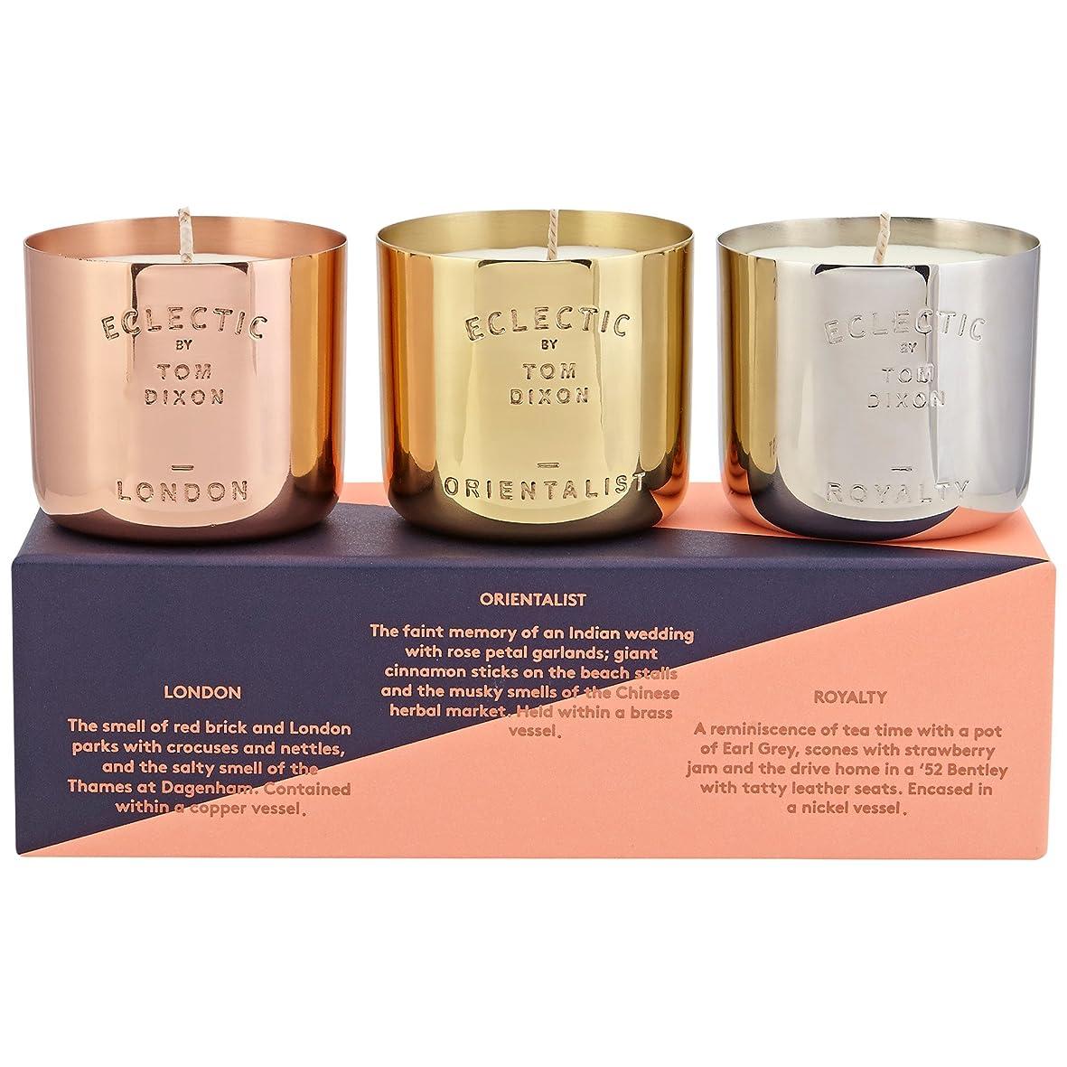 直感幻滅する代数Tom Dixon Scented Candle Gift Set (Pack of 2) - トムディクソン香りのキャンドルギフトセット x2 [並行輸入品]