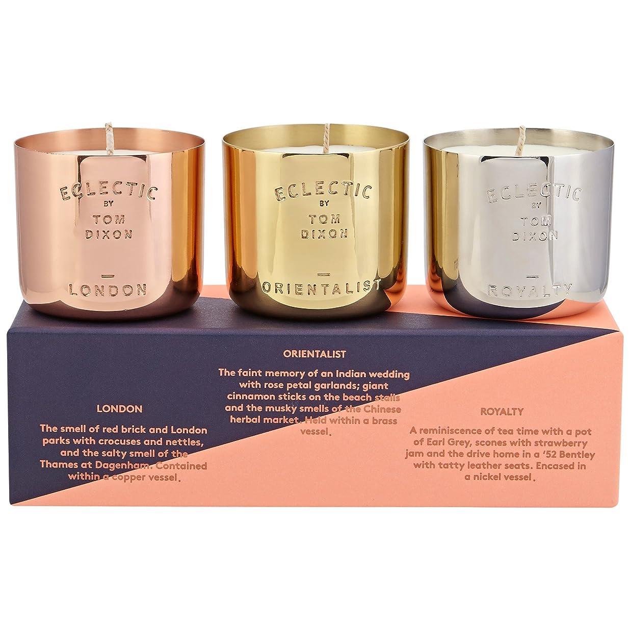 シャワーセメント教授トムディクソン香りのキャンドルギフトセット x6 - Tom Dixon Scented Candle Gift Set (Pack of 6) [並行輸入品]