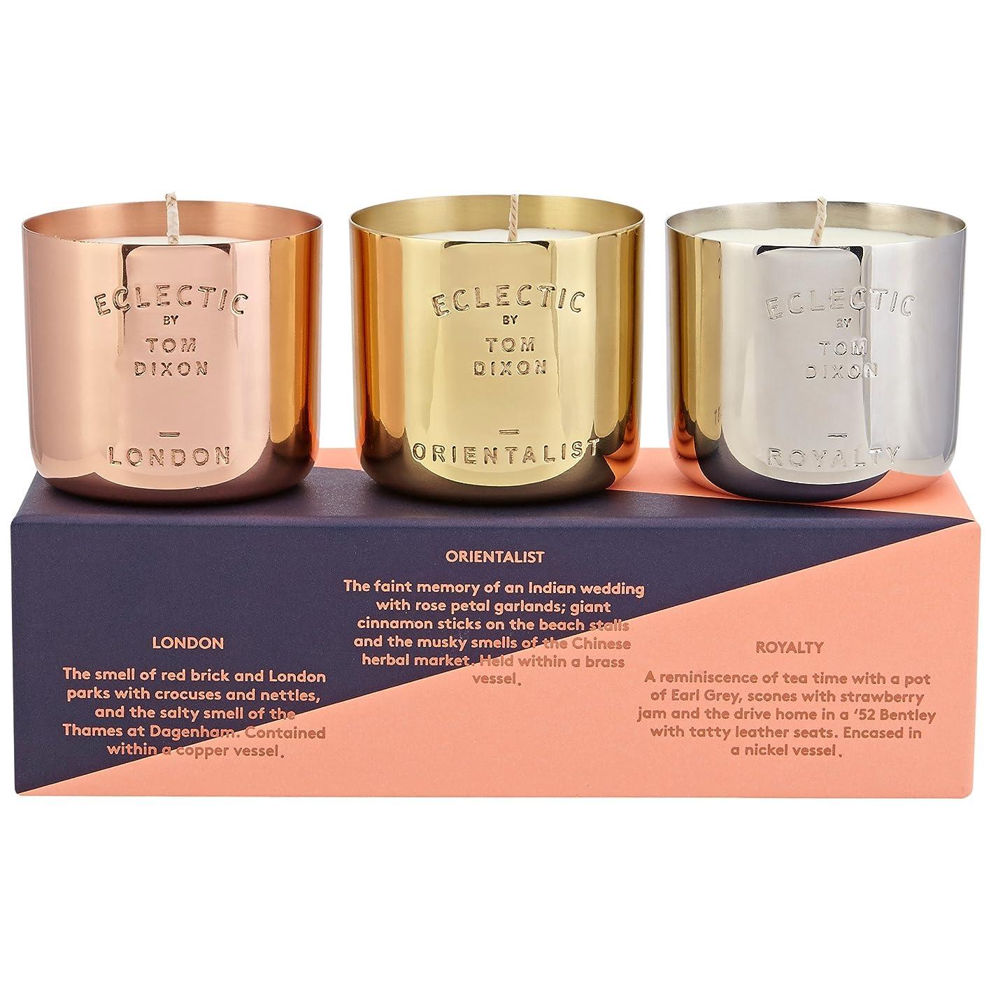 トンネル結核怒ってトムディクソン香りのキャンドルギフトセット x6 - Tom Dixon Scented Candle Gift Set (Pack of 6) [並行輸入品]