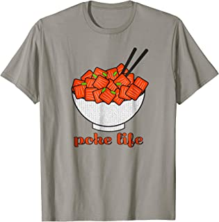 cab9d07f217 Foodie Poke Bowl T Shirt for Fish Bowl Gourmets
