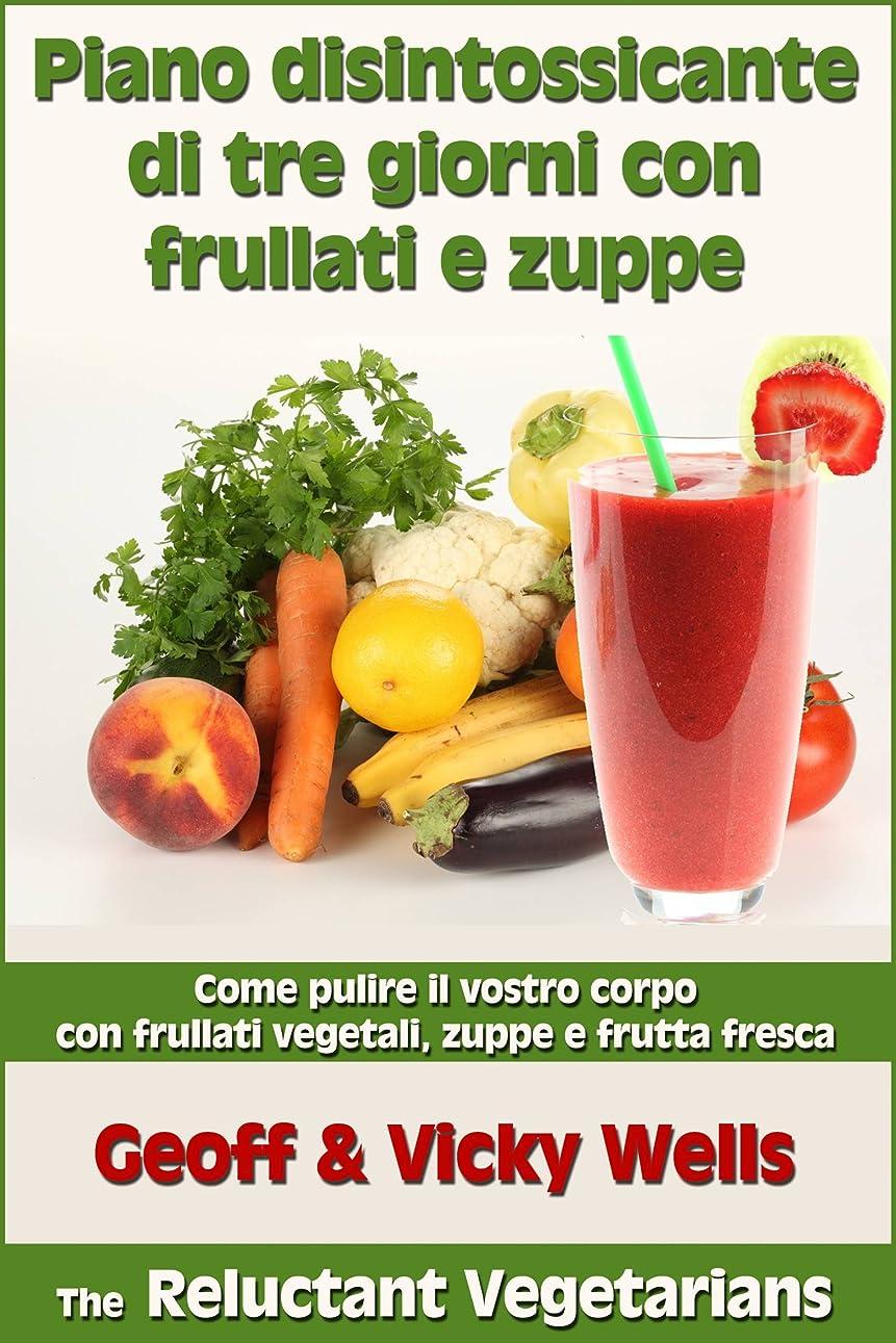 悩む反動エンコミウムPiano disintossicante di tre giorni con frullati e zuppe (Italian Edition)