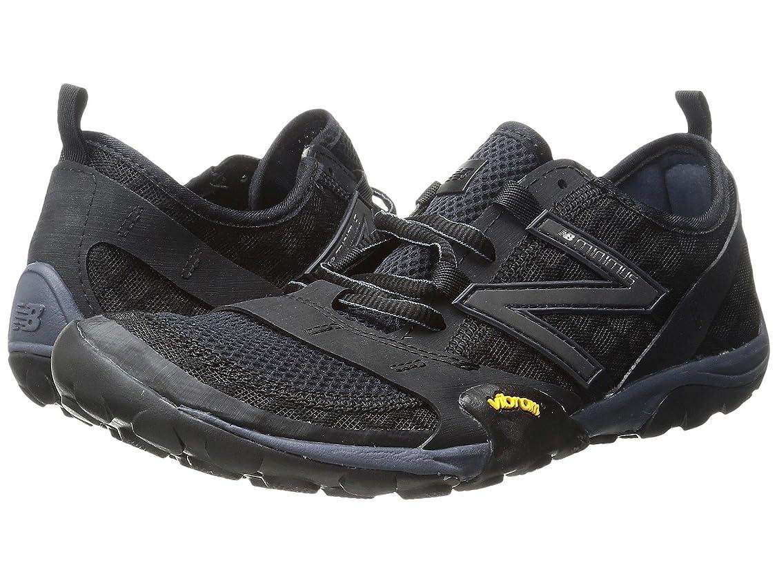 アート減らすティッシュ(ニューバランス) New Balance レディースランニングシューズ?スニーカー?靴 Minimus 10v1 Black/Thunder 9 (26cm) D - Wide