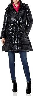 A X Armani Exchange Women's Alternative Down Snap Closure Coat