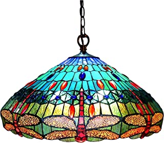 Chloe CH12002BD24-DH3 Scarlet Hanging Pendant Lamp with 24