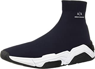 A|X Armani Exchange Men's Sock Boot Sneaker