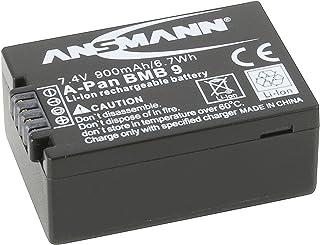 ANSMANN 1400 0026 A Pan DMW BMB 9E Li Ion Digicam Akku 7,4 V/900mAh für Panasonic Foto Digitalkamera