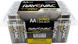 Rayovac Batteries ALAA-24F Ultra Pro AA Alkaline Batteries, AA (Pack of 24)