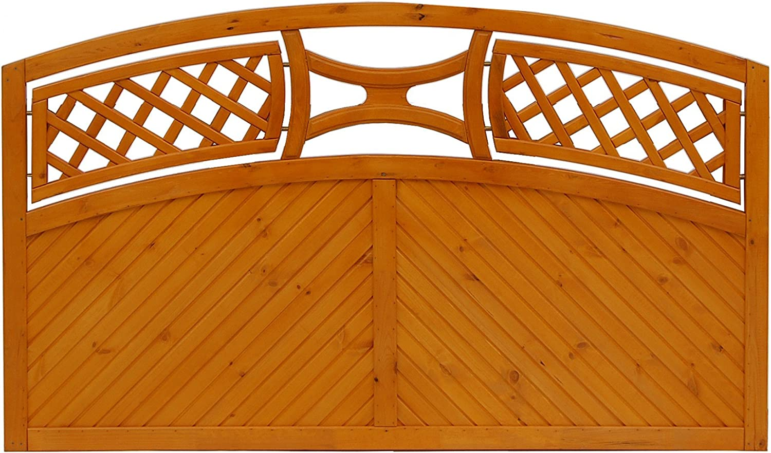 Andrewex wooden fence, fence panel,quality fence panels, border fence 90 106 x 180, varnished, pinie