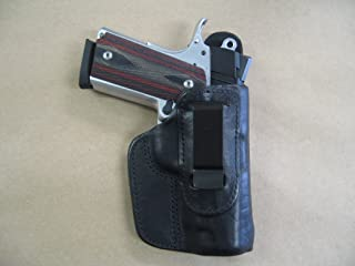 Colt Defender 1911 Compact IWB Leather In The Waistband Concealed Carry Holster