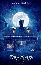 WMG Krampus - Movie Poster 12 x 18 Inches, Glossy Photo Paper (Thick - 8 Mil): Adam Scott, Allison Tolman, Toni Collette