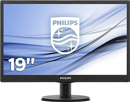 Philips Monitor, 18.5 Pollici, 16:9, 1366x768, Nero - Confronta prezzi