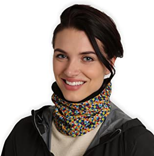 Womens Neck Warmer - Winter Fleece Neck Gaiter & Ski Tube Scarf - Cold Weather Face Cover, Mask & Shield for Running, Skii...