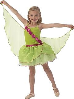 KidKraft Grön älvkostym med vingar – S