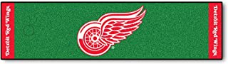 FANMATS NHL Detroit Red Wings Nylon Face Putting Green Mat
