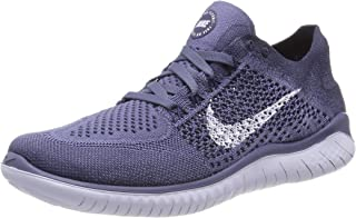 9389ae92dad Nike Free RN Flyknit 2018 Men s Running Shoe DIFFUSED Blue Football Grey-Thunder  Blue