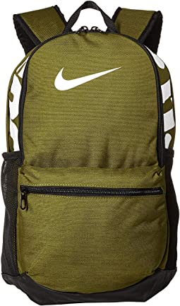 Olive Flak Black White. 26. Nike. Brasilia Medium Backpack 13bf02eb95048
