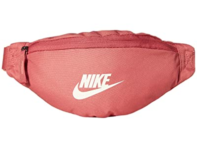 Nike Heritage Small Fanny Pack (Canyon Pink/Canyon Pink/Pale Ivory) Bags