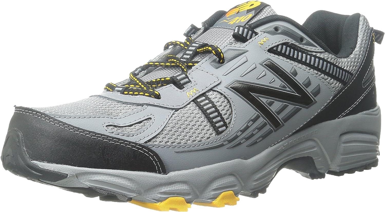 Amazon.com | New Balance Men's 410 V5 Cushioning Trail Running ...