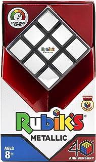 Rubik's 10840 Cube d'anniversaire métallique 3 x 3 cm