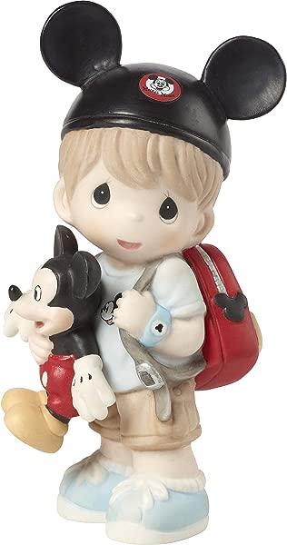 Precious Moments Disney Showcase Boy Mickey Mouse Fan 191062 Figurine One Size Multi
