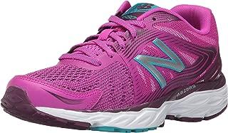 New Balance Women's 680v4 Running-Shoes,Poisonberry/Dark