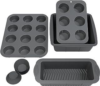 قالبهای سیلیکونی 16 عددی ذغال سنگ زباله آشپزخانه Olive's Metricic