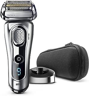 Braun Series 9 9260s Wet and Dry - Máquina de afeitar de láminas (LED, Batería, Ión de litio, 50 min, Plata)