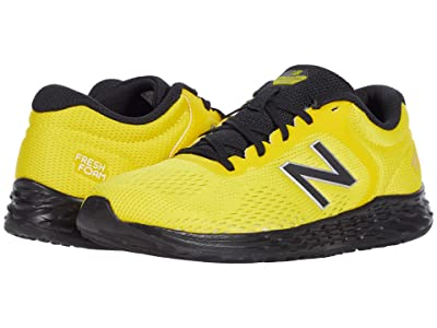 New Balance Kids Fresh Foam Arishi v2 (Little Kid/Big Kid) (Atomic Yellow/Black) Boy