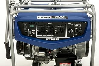 Yamaha EF7200DE, 6000 Running Watts/7200 Starting Watts, Gas Powered Portable Generator