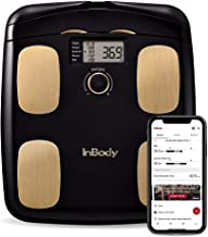 InBody H20N Smart Full Body Composition Analyzer Scale - BMI, Body Fat, Muscle Mass - Bluetooth Connected - Midnight Black