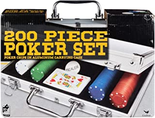 Spin Master Games 200 pc Poker Set in Aluminum Case