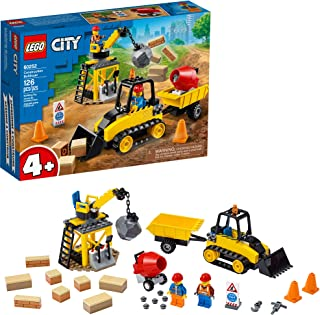 LEGO City Construction Bulldozer 60252 Toy Construction...