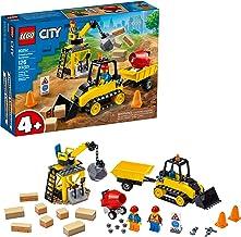 LEGO City Construction Bulldozer 60252 Toy Construction Set, Cool Building Set for Kids,..
