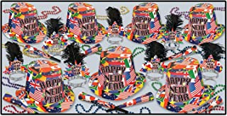 Beistle 88576-50 International Party Favors, 1 Assortment Per Package
