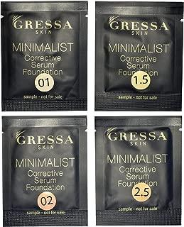 Gressa Skin - Find Your Match Kit | Minimalist Serum (Fair-Light)
