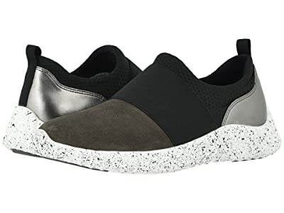 Johnston & Murphy Kelly (Gray Waterproof Suede) Women