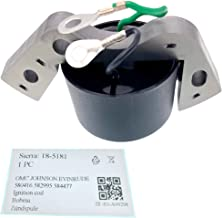 PARTSRUN 582995 584477 18-5181 Ignition Coil for Evinrude Johnson OMC Outboard ZF-IG-A00298