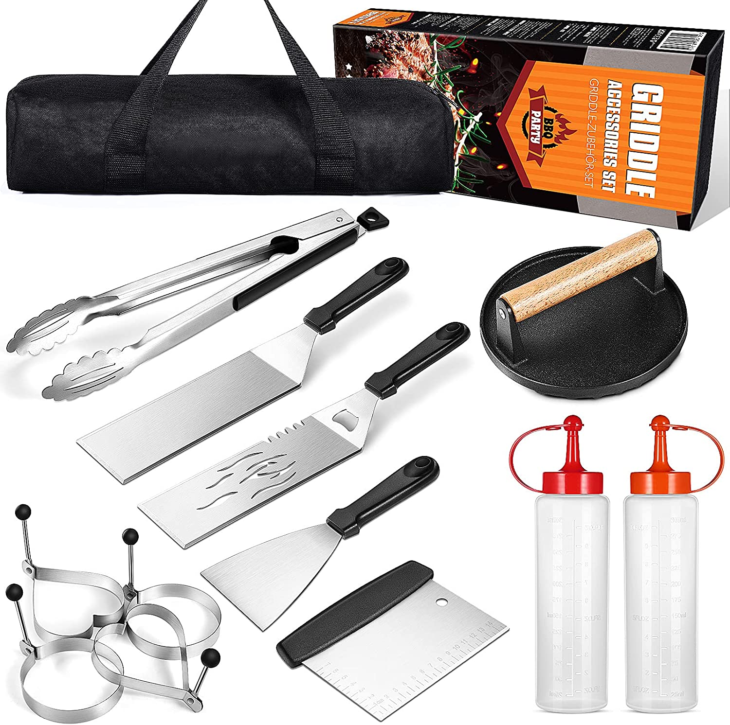 Save money VALICLUD Be super welcome 13pcs Barbecue Tool Sets Grill Accessories Outdoor for
