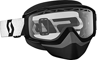 Scott Split OTG Adult Snowmobile Goggles - Black/Clear/One Size