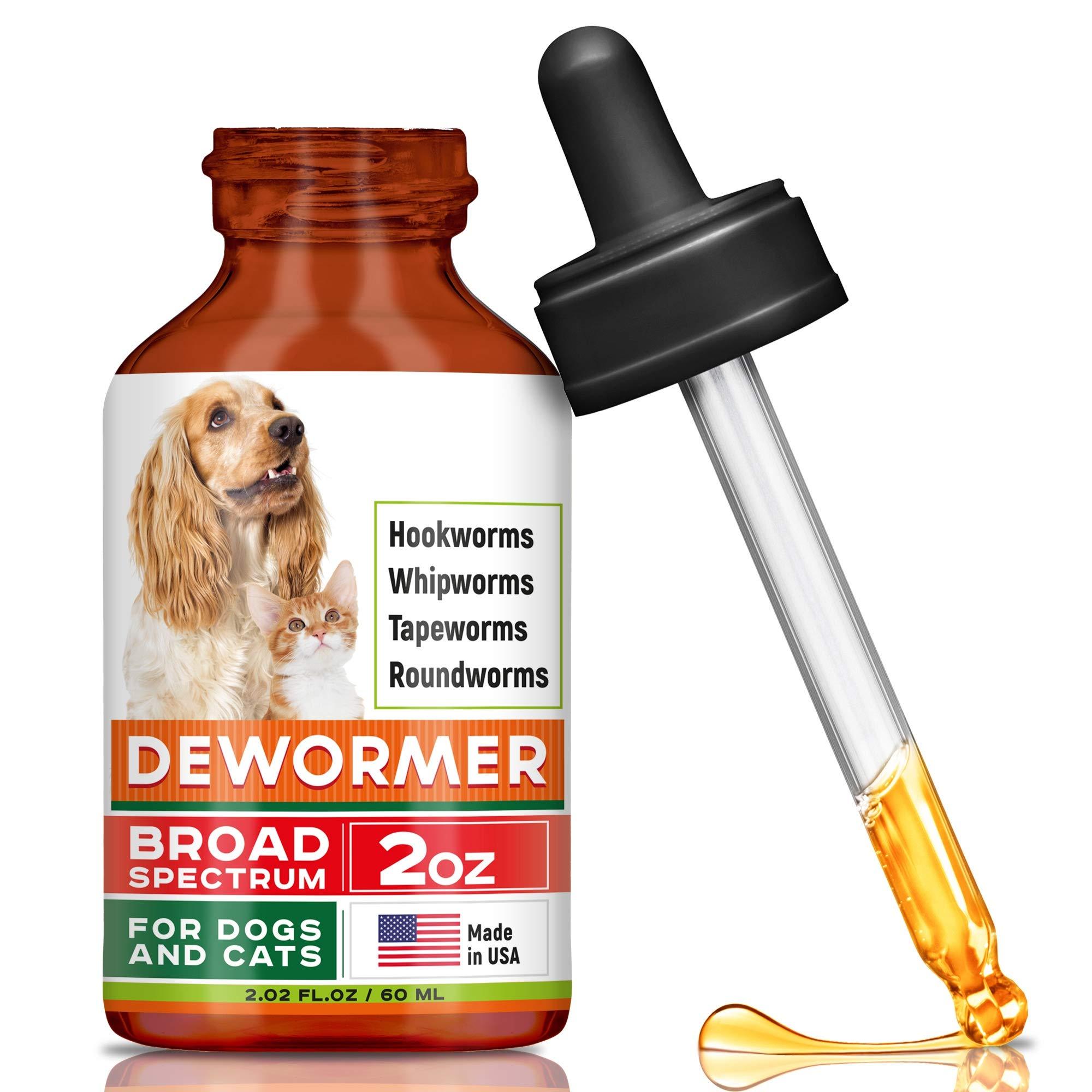 GOODGROWLIES Dewormer Dogs Cats Eliminates