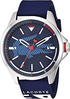 Lacoste Men's Blue Dial Silicone Band Watch - 2010940