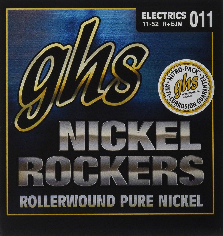 ghs REJM - Juego de cuerdas para guitarra eléctrica, 011-052